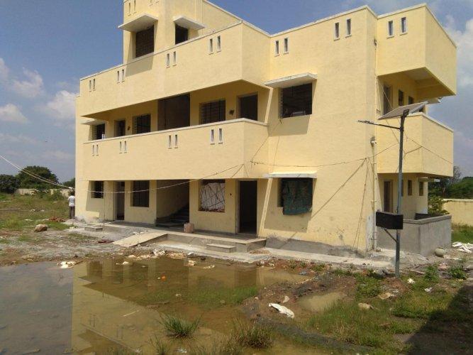 The Kittur Rani Chennamma Residential School complex.
