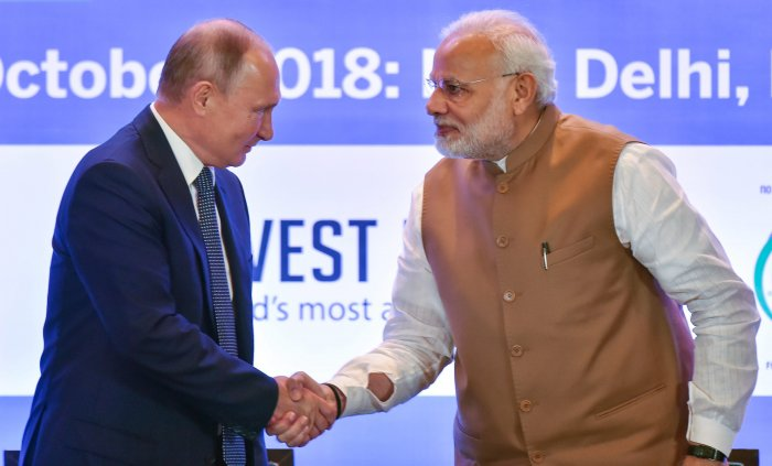 Moscow on Thursday said that its defence cooperation with New Delhi would not be detered by United States sanctions