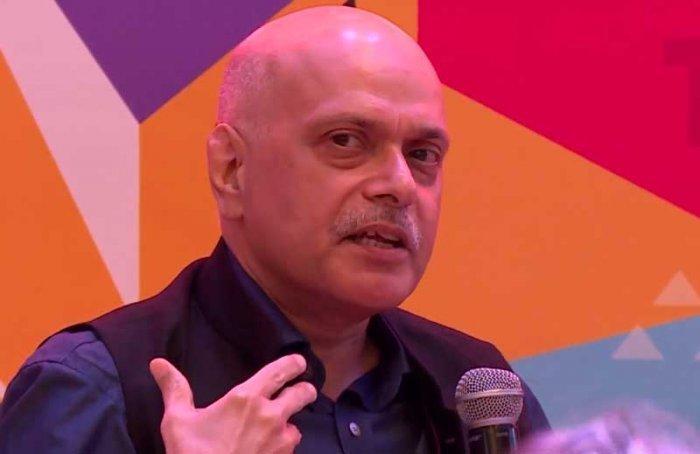 Raghav Bahl. Videograb