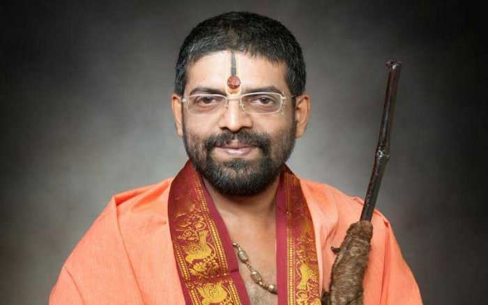 Late Shiroor Mutt seer Lakshmivara Theertha Swami. (DH File Photo)