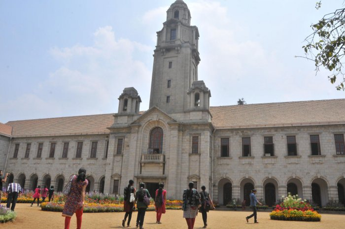 """The government granted """"Institutions of Eminence"""" (IoEs) status to IIT-Delhi, IIT-Bombay and the Bengaluru-based Indian Institute of Science (IISc) in the public sector, and Manipal Academy of Higher Education, BITS Pillani and Jio Institute by Reliance Foundation in the private sector. (DH File Photo)"""