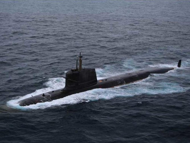 """Navy Spokesperson Capt D K Sharma said that with induction of the deep submergence rescue vehicle (DSRV), India has joined a select group of countries that have the capability to locate and rescue """"distressed submarines"""". (File Photo)"""