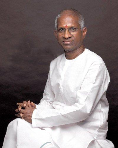 Music composer Ilayaraja.