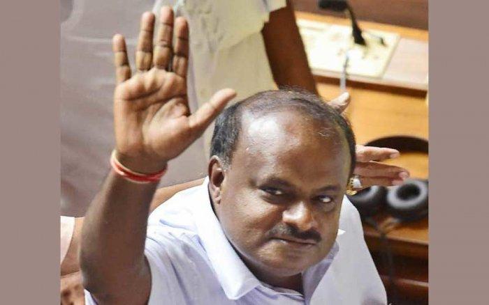 H D Kumaraswamy (PTI)
