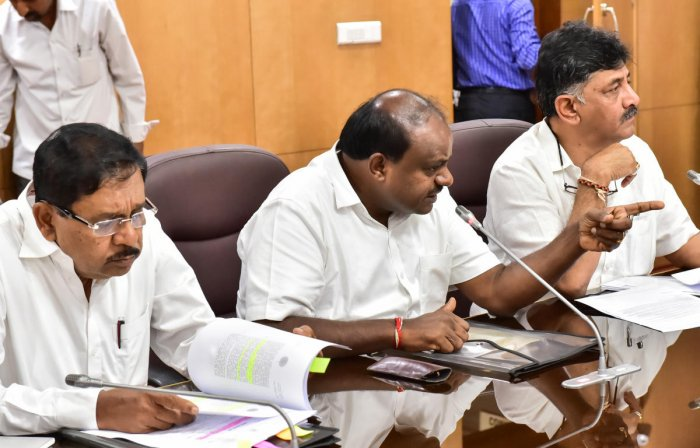 Kumaraswamy, who also holds the finance portfolio, had earlier cited coalition compulsions and the need for studying the financial condition of the state as the reason for the delay in the announcement of loan waiver.