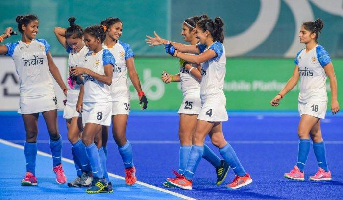 Indian women's hockey team . PTI file photo.