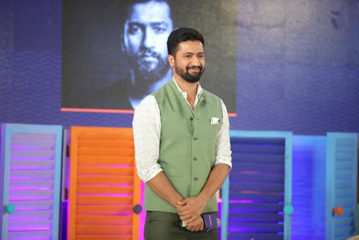 Vicky Kaushal at We The Women Asia programme in Bengaluru. (DH File Photo/Ranju P)