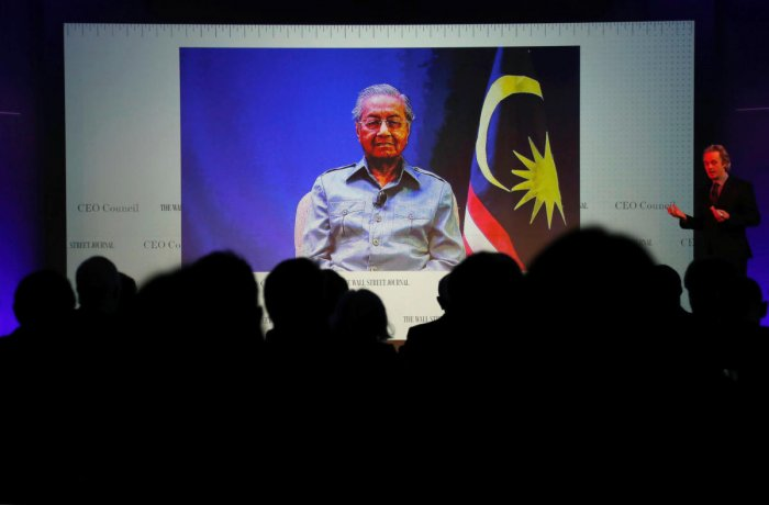 Malaysia's Prime Minister Mahathir Mohamad. Reuters