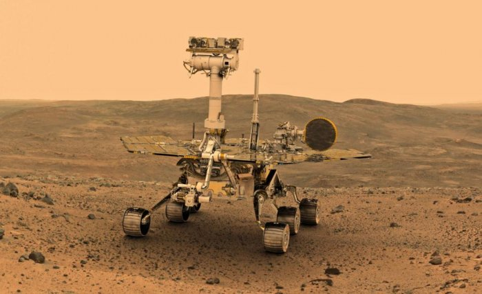 According to the US space agency, it is possible that a layer of dust deposited on the rover's solar panels by the dust storm is blocking sunlight that could recharge its batteries.