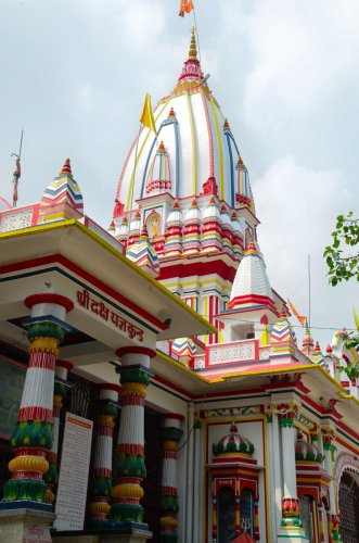 where the legend began Daksheswara Mahadev Temple. Photo by author