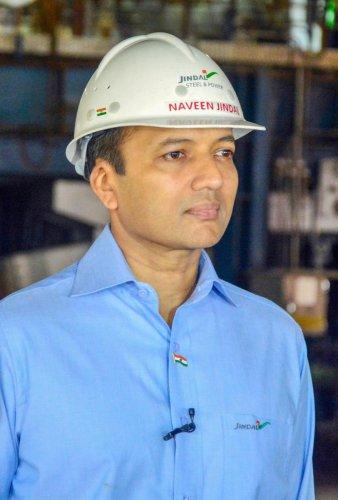 Chairman of Jindal Steel and Power Ltd (JSPL) Naveen Jindal. PTI file photo.