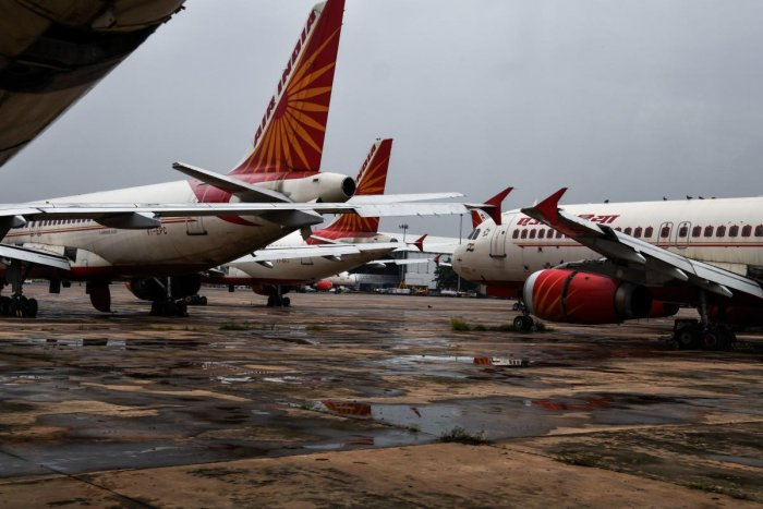 The wide-body Boeing 777 aircraft was preparing to depart for New Delhi when Harsha Lobo fell on the tarmac from a height of 20 feet. (AFP file photo)
