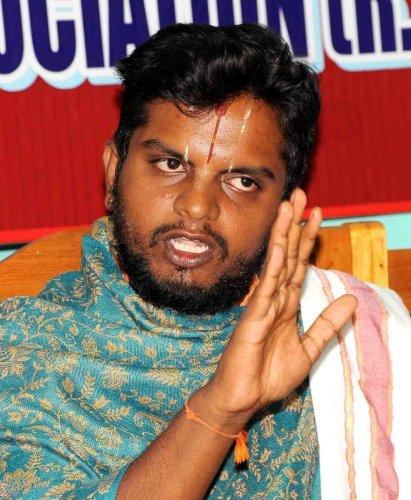Priest Rakshit Bhardwaj