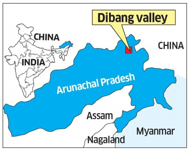 More than 10 Chinese soldiers were spotted in the upper Dibang region of the northeastern state.