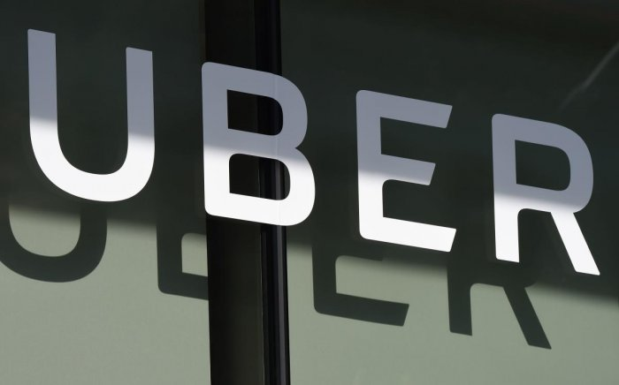 The ride-hailing company's most recent valuation was pegged at $76 billion, following a $500 million investment from Toyota Motor Corp in August. (AFP file photo)
