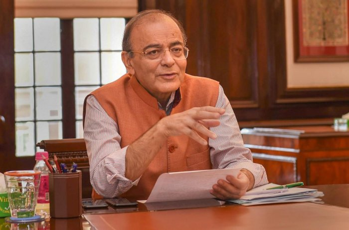Jaitley noted that while speaking at two different functions in Madhya Pradesh on Monday, Gandhi made two references to him. PTI file photo