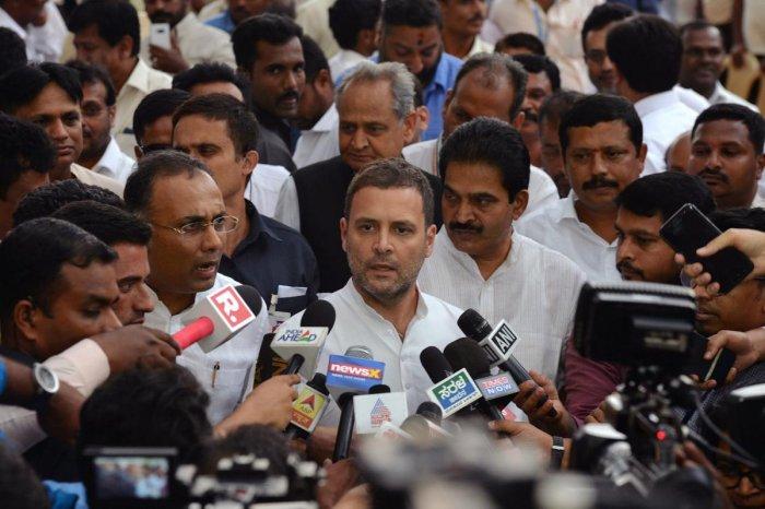 Rahul Gandhi. AFP photo.