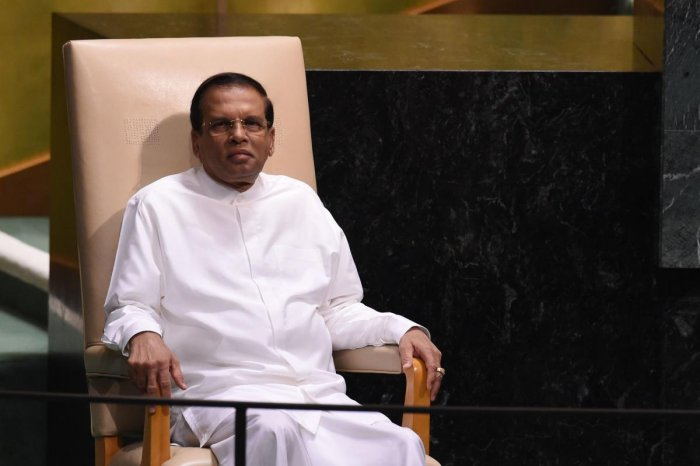 The minister, who declined to be named, claimed that the president Maithripala Sirisena said that India's external intelligence agency RAW was behind the plot. AFP File Photo
