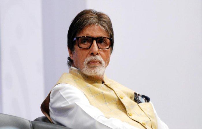 Indian Bollywood actor Amitabh Bachchan. AFP file photo