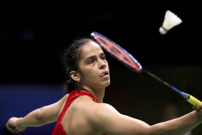 Saina, ranked 10th, recovered after the losing the first game to beat familiar foe and world number seven Okuhura of Japan 17-21, 21-16, 21-12 in the quarterfinal. (AP/PTI File Photo)