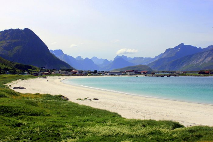 Ramberg Beach, Flakstad, Lofoten Islands