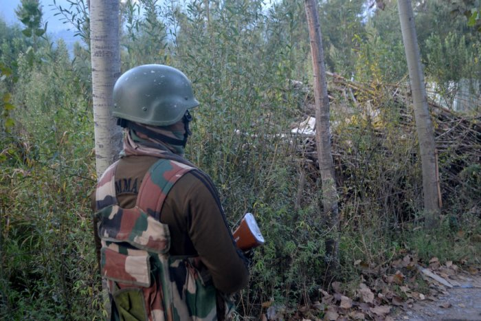 Two unidentified militants were killed after a brief shootout with security forces in north Kashmir's Baramulla district on Friday, police said. File photo