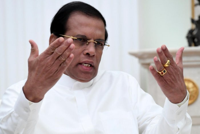 President Maithripala Sirisena. Reuters Photo.