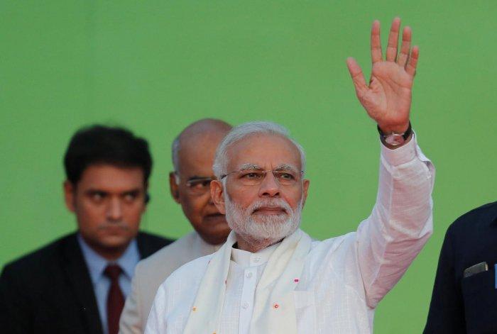 Modi said the award will be announced on January 23, Netaji's birthday. (Reuters Photo)