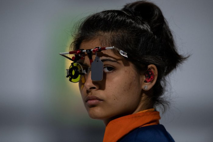 ACE PERFORMER: With a gold in the 10m air pistol event at the Youth Olympic Games, Manu Bhaker proved she is one the big talents to watch out for. REUTERS