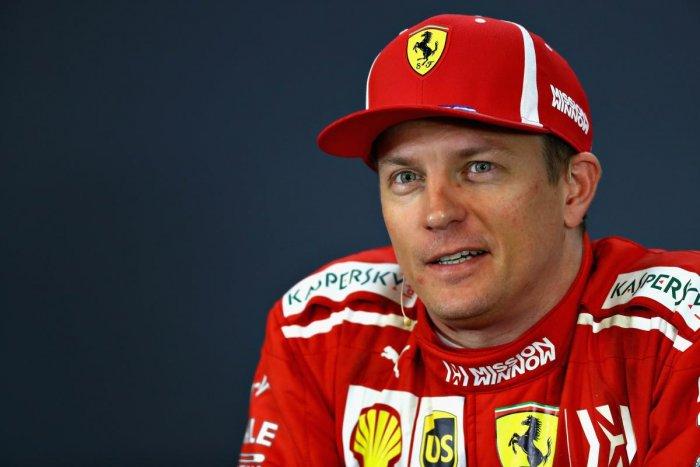Ferrari's Kimi Raikkonen played down his win at the US Grand Prix. AFP
