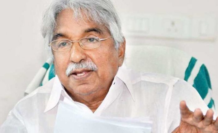 Former Kerala chief minister Oommen Chandy.