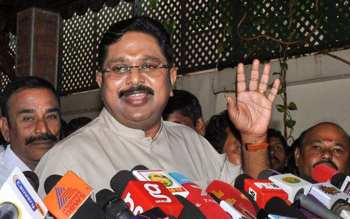 TTV Dhinakaran is planning to pack 18 MLAs to a luxury resort in Courtallam to ward off any attempts of poaching by the ruling AIADMK. PTI file photo