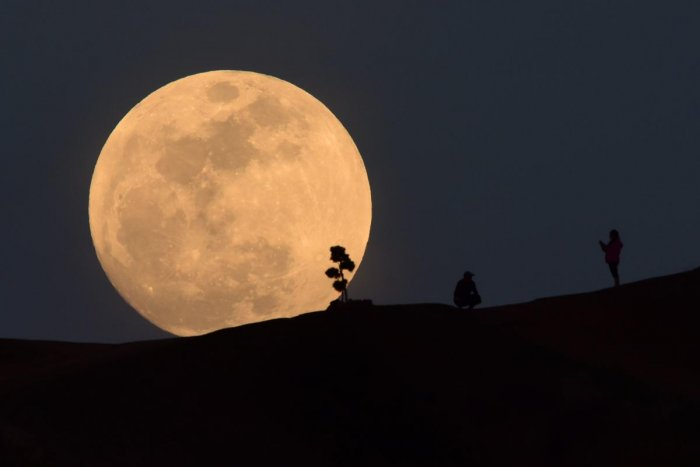 While the country's first lunar probe was launched in October 2008, the schedule of the proposed Chandrayaan-2 lift-off is being eagerly awaited. AFP file photo.
