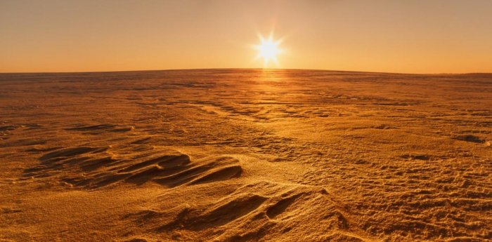It has also been hypothesised that water could exist in salty subsurface pools because perchlorate salts (compounds of chlorine and oxygen) have been detected at various places on Mars. File photo