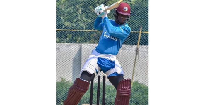 West Indies batsman Shimron Hetmyer, who struck a blazing ton in the first ODI, was one of the positives for the beleaguered tourists. Credit: PTI
