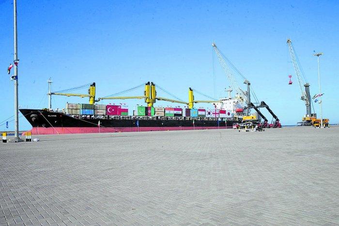 Chabahar Port. (AFP file photo)