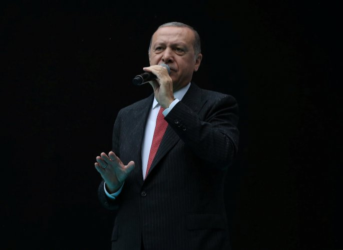 """Erdogan said the whereabouts of Khashoggi's body was still unknown and he demanded Saudi Arabia reveal the identity of a """"local cooperator"""" who purportedly took the body. Reuters file photo"""
