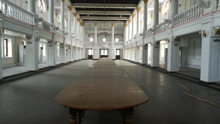 A view of the Belvedere House at the National Library, where the exhibition will be held. DH PHOTO/Soumya Das