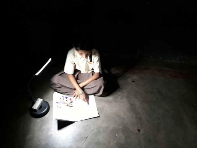 Light for education initiative of SELCO has helped students who don't have continuous access to electricity.