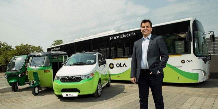 Ola co-founder and CEO Bhavish Aggarwal.