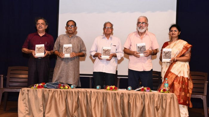 Dignitaries release translations of two major works brought out by Manipal Universal Press in Udupi.