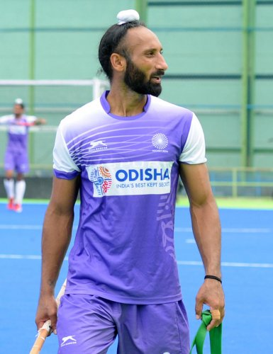 ON A COMEBACK TRAIL Former Indian captain Sardar Singh revealed that he was hurt when the coaching staff stayed silent on his axing. DH PHOTO/ SRIKANTA SHARMA R