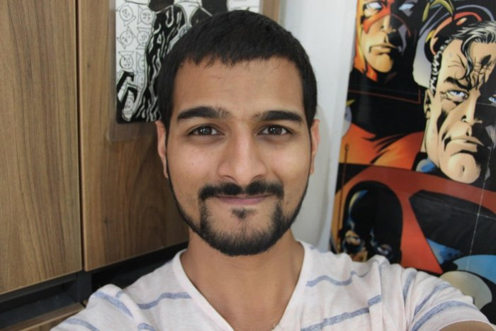 Rahil Mohsin is one of the guests at the Comic-Con workshop in Indiranagar.