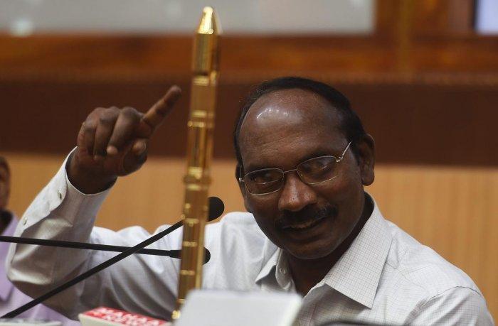 In picture: ISRO chairman Kailasavadivoo Sivan. PTI photo.