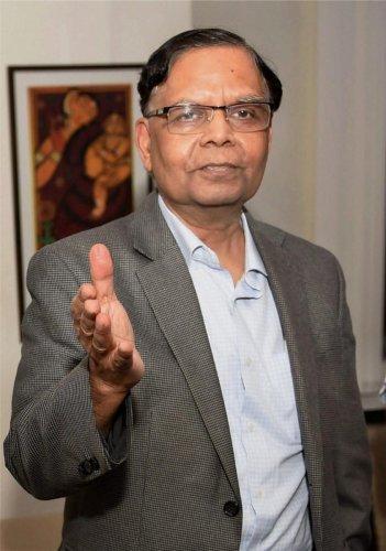 Arvind Panagariya. PTI