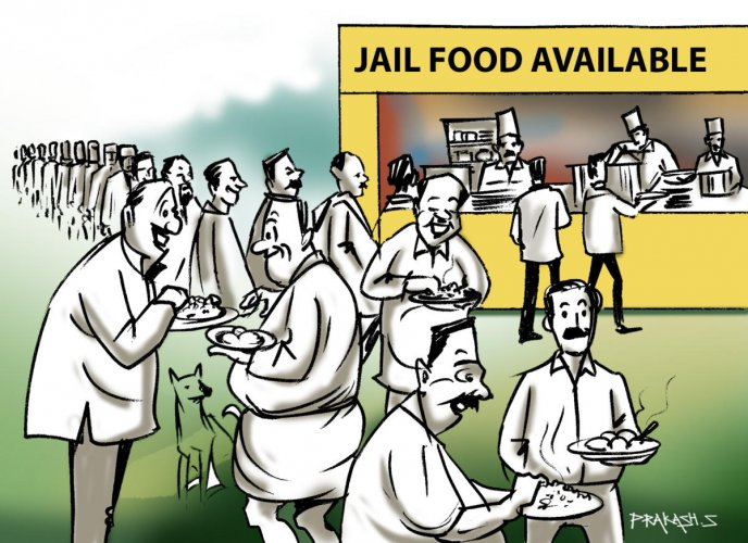 People queue up for jail food in Punjab | Deccan Herald