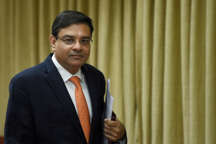 Reserve Bank of India (RBI) Governor Urjit Patel arrives to address a news conference at the bank's head office in Mumbai on August 1, 2018. AFP