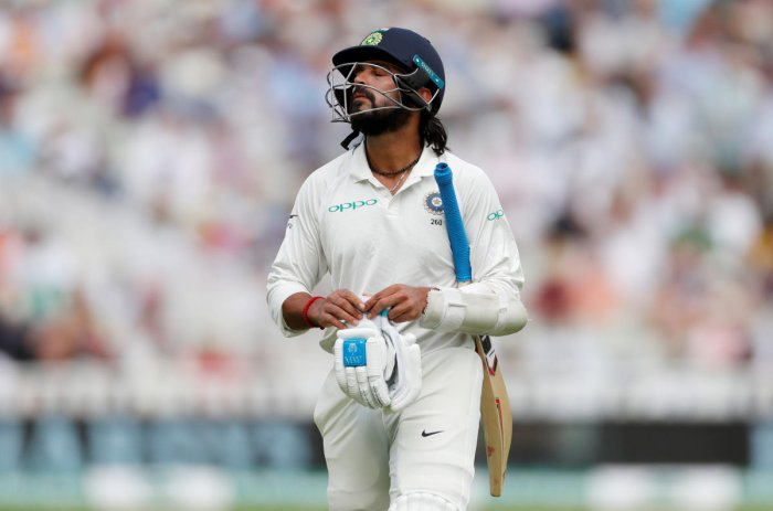TOUGH TIMES: Indian openers have struggled to make meaningful contributions, compounding India's batting woes. Reuters