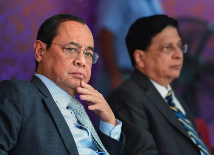 Justice Ranjan Gogoi, the senior most judge will assume the charge as the 46th Chief Justice of India today