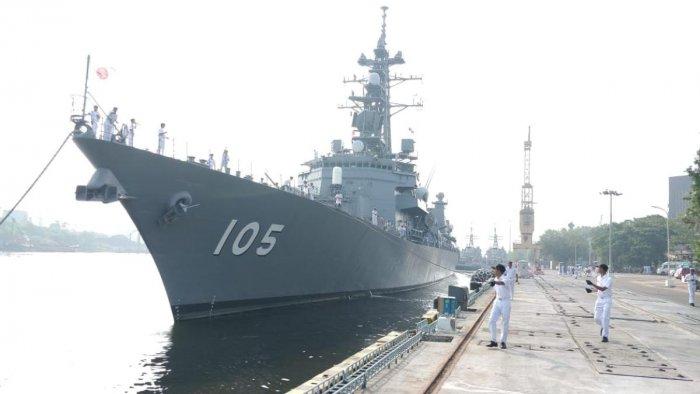 Japanese ships arrive at Vizag on Sunday.